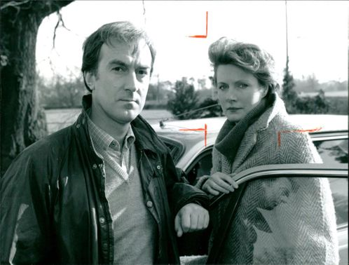 Susan Woodridge and Angus Deayton.
