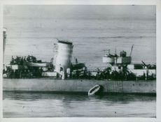 FLEET BEAT OFF TWO-DAY ATTACK ON CONVOY
