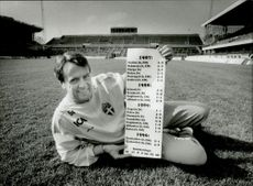 Nisse Andersson showcases match results over the years.