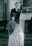 The Queen and Prince Philip celebrate their Ruby Wedding on 20th November 1987.
