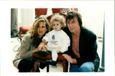 Bill Wyman with Suzanne and Katherine.