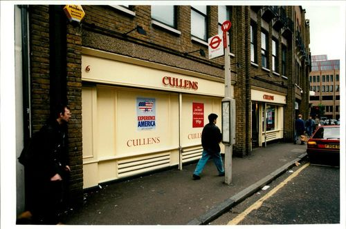 Robbery: Cullens Store and Marks & Spencer Store.