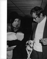 Roger Vadim with Jane Fonda and their baby.