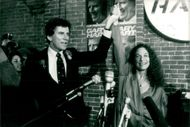 Senator Gary Hart along with Carole King