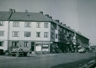 A view of the Gothenburg streets.
