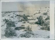 1943  8th Army offensive on a six mile front: All Primery objectives taken. Sappers clear the way for the eight army.