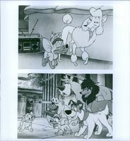 "Scenes from the animated musical buddy comedy film ""Oliver & Company."""