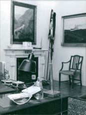 A view inside a royal house. August 2, 1960.