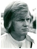 Portrait image of Ronnie Peterson, racing driver in Formula 1.