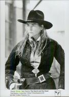 "Sharon Stone as Ellen in ""Faster Than Death"""