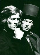 Thomas Hellberg and Åke Lundqvist in Faust