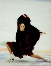 Winter Olympics in Nagano 1998. Figure skating show