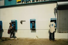 Public phones in Atlanta.
