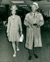 Bing Crosby and his wife.