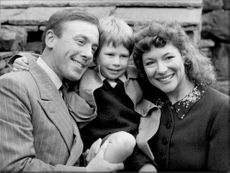 Portrait image of Christopher Timothy, Harry Brayne and Carol Drinkwater