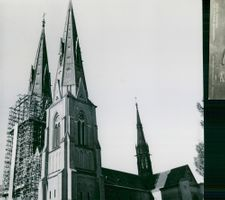 Uppsala Cathedral: It has sprung up to a new battlefield