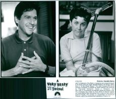 Photos of Tim Matheson and Henriette Mantel in the film A Very Brady Sequel.