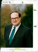 Peter J. Davis, The deputy chairman and chief executive of Reed International.P.L.C.