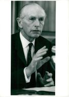 British Foreign Minister Sir Alec Douglas-Home