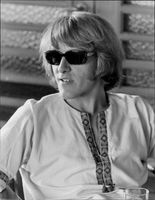 Paul Kanther, singer in the rock band Jefferson Airplane