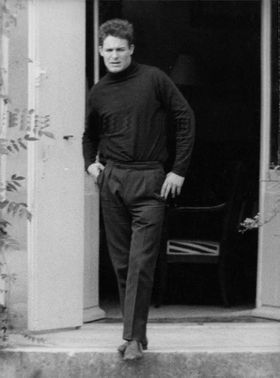 Jacques Charrier standing.