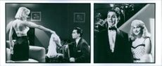 A scenes from the film Ed Wood, 1994.