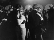 Fully on the dance floor and laid back atmosphere in the Blue Hall at the New Years celebration