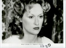 "Actress Meryl Streep in the movie ""Sophie's Choice"""