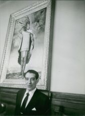A portrait of Adolfo López Mateos. Photo taken March 17, 1964