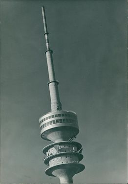Munch Germany: the olympia tower.