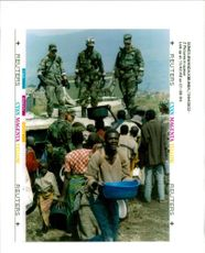 Rwanda war:US soldier from the 512th maintainance.