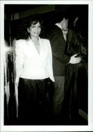 "Bianca Jagger at club ""A"""