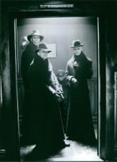 A scene in the movie Dark City.