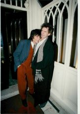 Keith Richards together with Ronnie Wood