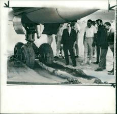 Minister Cledwyn Hughes and President Kaunda during Zambia Crisis 1965