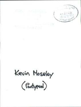 Kevin Moseley.