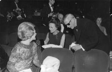 Duke of Windsor with his wife at an event.