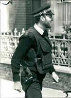 An armed officer joining in yestersday massive.