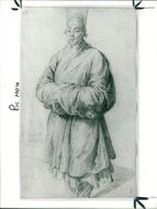 Sir Peter Paul Rubens: man iin korean costume.