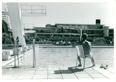 The swimming pool at Ronneby Brunn