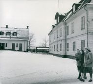 Current girls school in Södertälje, which in the future becomes a museum