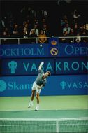 Stefan Edberg plays his last tennis match in Stockholm Open 1996