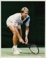 Tennis player Stefan Edberg