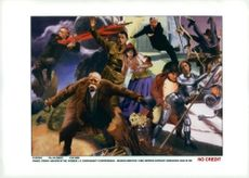 France: Art. J.P. Chevenement's controversial postcards with Napoleon and Jeanne d'Arc and others.