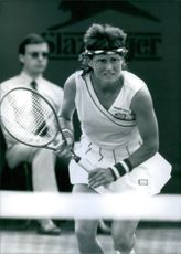 U.S. Tennis player, Barbara Potter, 1988.