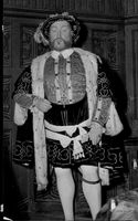 """Henry VIII"" on Madame Tussaud's wax cabinet"