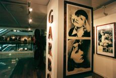 The PUB department store is reopened with the Greta Garbo exhibition