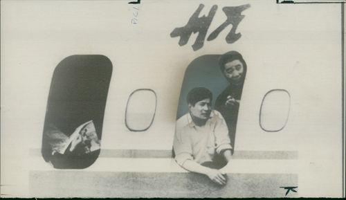 Passengers on board a Skyjacked chinese Airliners.
