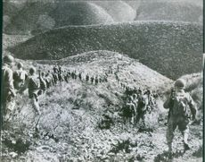 U.S. Army Rangers on Maneuvers in North Africa.