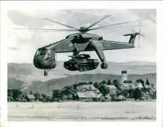 US Army Aerial X helicopter